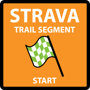 Strava Trail Segment - Start - Sign Decal